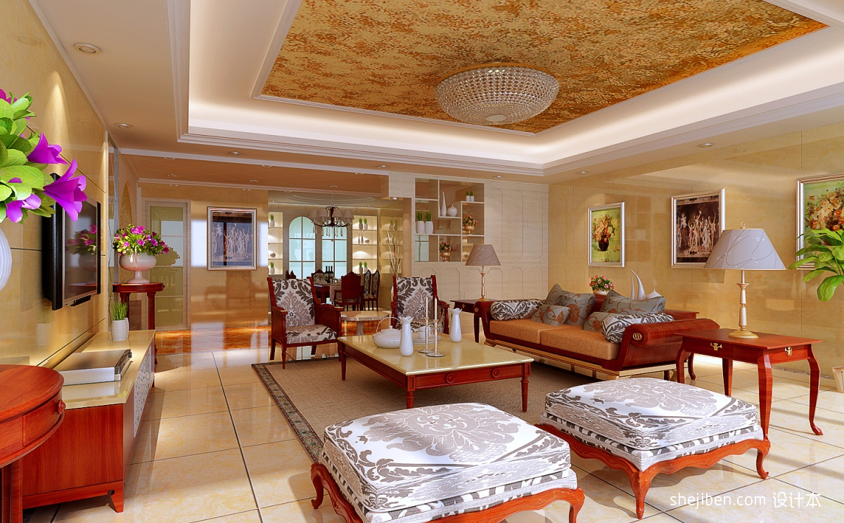 1、客厅应设在住家的最前方   进入大门后首先应看见客厅,而卧房、厨房以及其他空间应设在房子后方。空间运用配置颠倒,误将客厅设置在后方,会造成退财格局,容易使财运走下坡。   2、客厅开运方法提   客厅不宜阴暗,明亮的客厅能带来家运旺盛,所以客厅壁面也不宜选择太暗的色调。客厅地板不宜高低不平,家运也会因地板的起伏而多坎坷。   3、客厅不宜有梁横跨   客厅的天花板若有横梁,将形成压迫的感觉,人们坐在横梁下容易造成精神紧张,而运势不振。应尽速将横梁遮掩在夹层的天花板里。   4、客厅应多使用圆形造