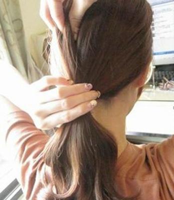 长发发型扎法 3款马尾辫发型扎法步骤